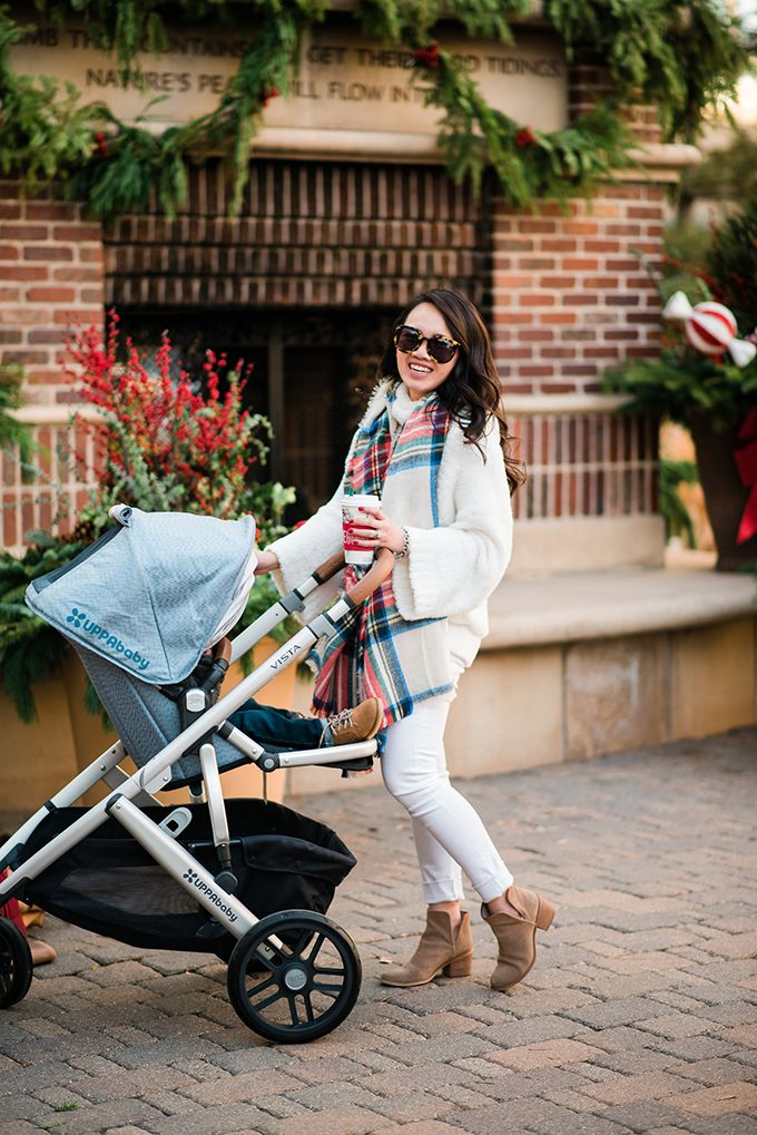 HOLIDAY SHOPPING WITH UPPABABY... Vista stroller