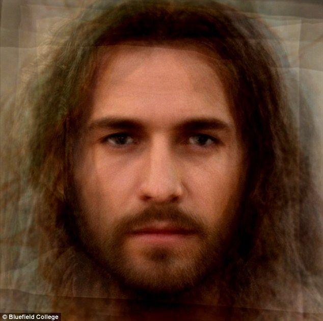 Hollywood's JESUS: Face of Christ is created based on filmstars' looks #hollywoodactor