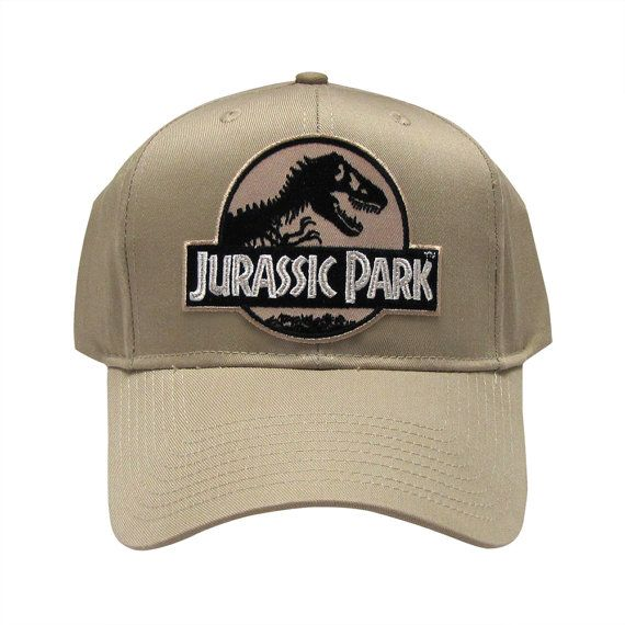 8613b853a Jurassic Park Movie Logo Desert Sci fi Patch Khaki by TYGP on Etsy ...