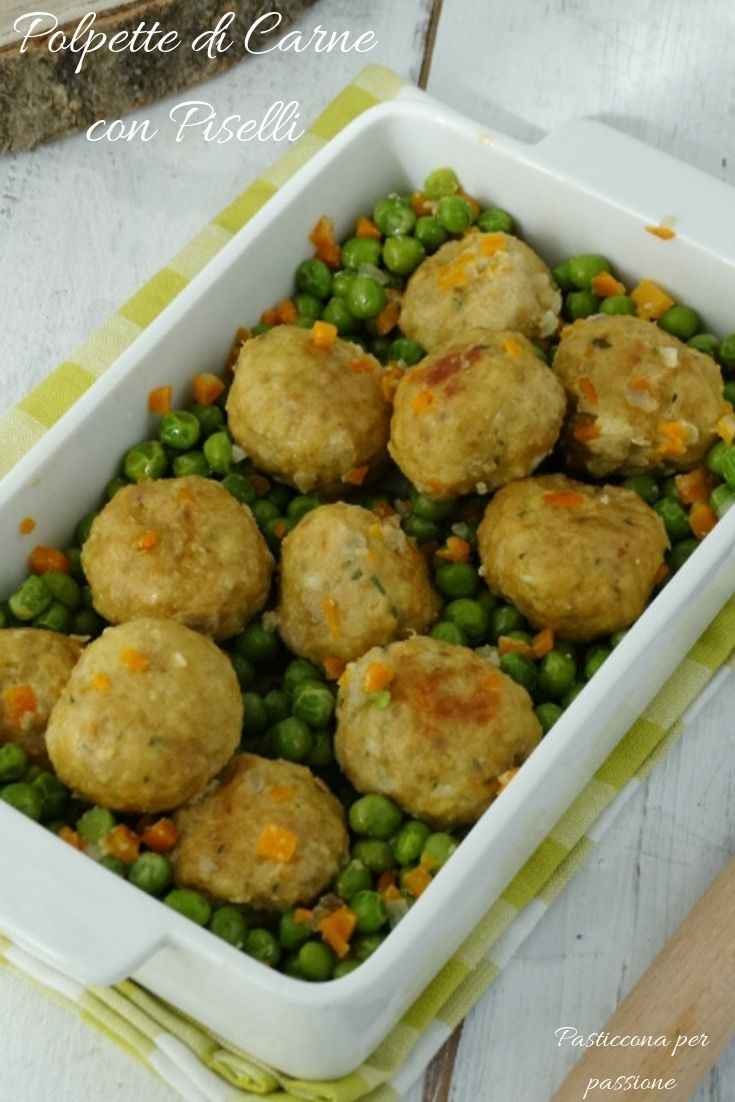 Photo of Meatballs with Peas