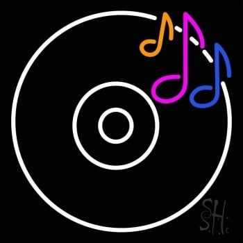 buy a cd musical note neon sign for dj back walls at very low rh pinterest com au dj logo creator software for pc dj logo creator free download