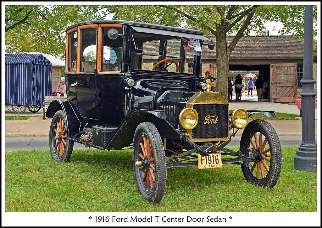 1916 Ford Model T Center Door Sedan Autok