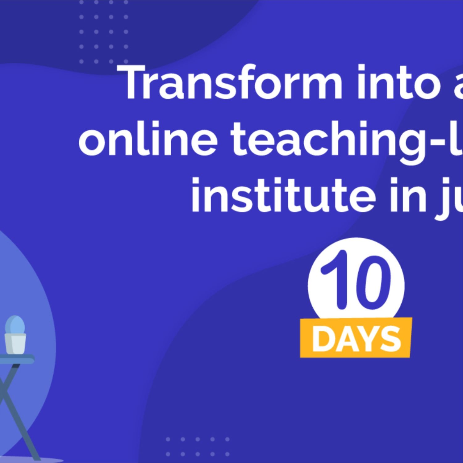 LoveMySkool can help you transform into a truly Online-Teaching Learning Instates in just 10 days. #LoveMySkool #LMS #EdTech #OnlineTeaching #OnlineLearning #VideoConference #OnlineClass #K12 #eLearning