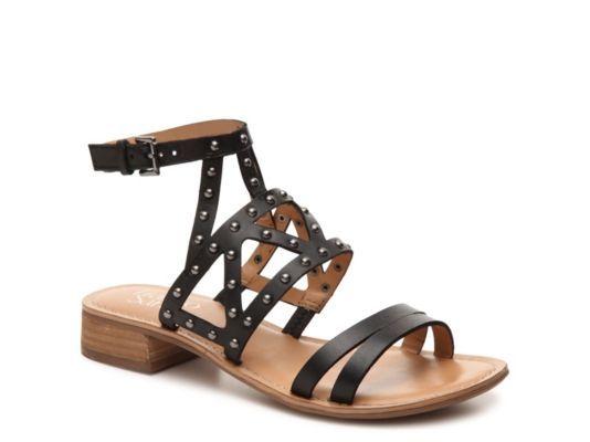 Women's Women Apollo Gladiator Sandal -Black - Black