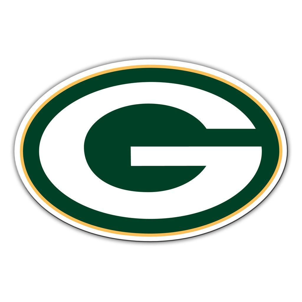 Team Logo Merchandise Sports Team Accessories Gifts And Gear At Team Sports Gift Vinyl Magnets Green Bay Packers Logo Green Bay