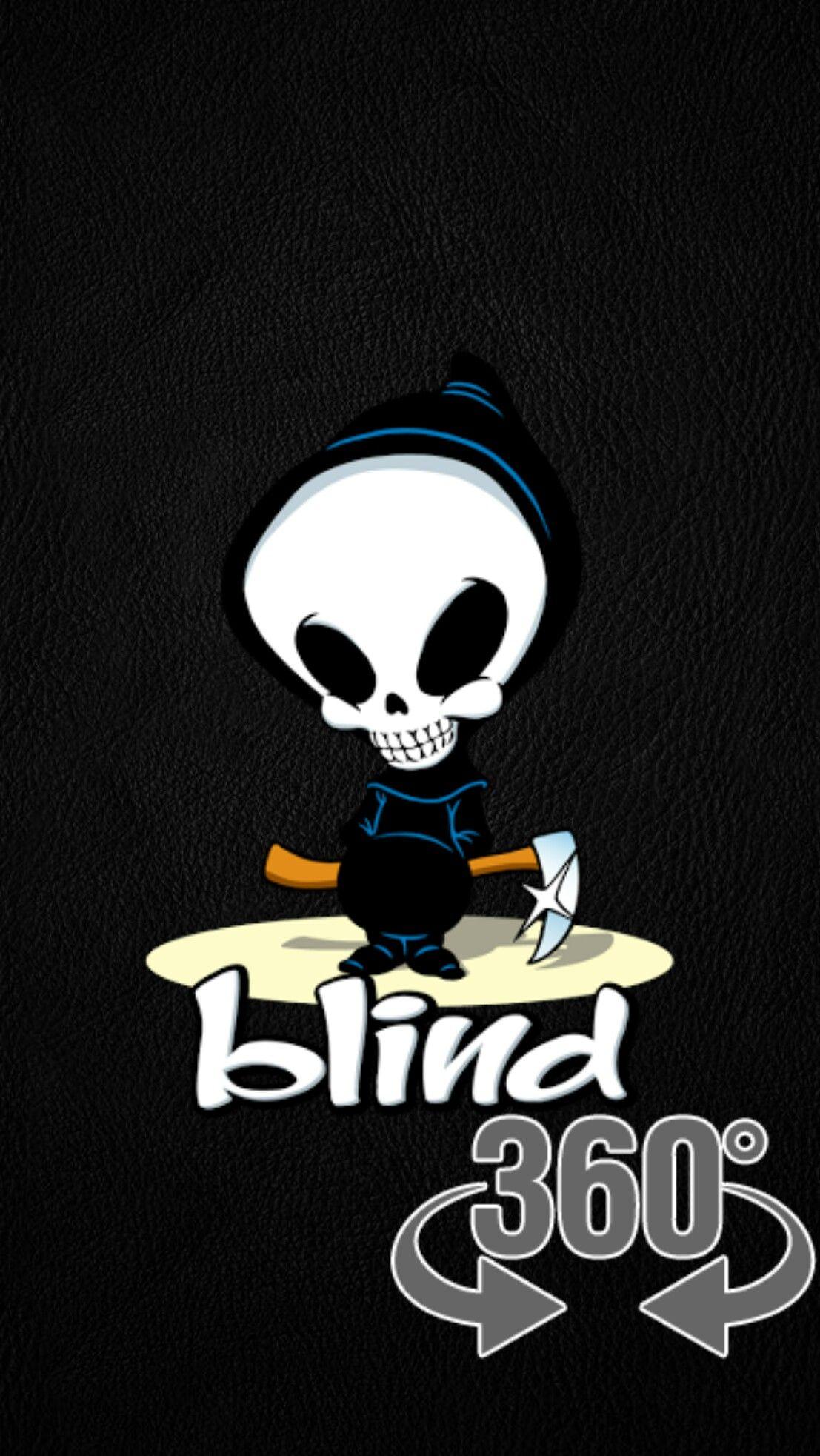 Skateboard Loading Black Wallpaper Android Iphone Skateboard Logo Blind Skateboards Emo Wallpaper