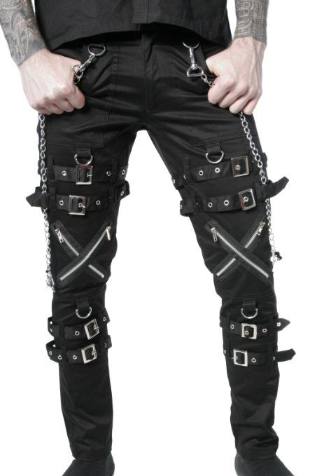 a68cb621785e4 Men's gothic pants at Amazon.com | Killer clothes!! in 2019 | Goth ...