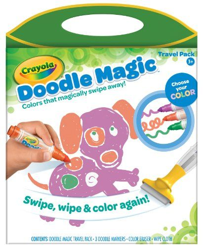 Crayola Doodle Magic Travel Pack Crayola Doodles Travel Packing