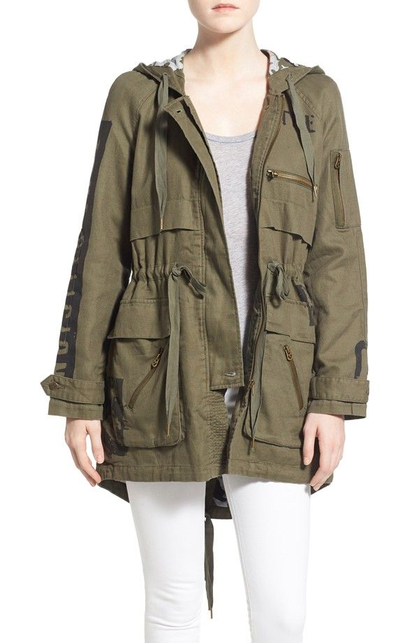 Spring 2016 Parka Jackets Women Shop | Military parka, Spring and ...
