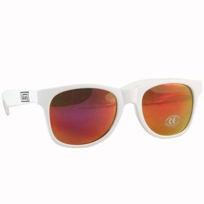 7f1e530d390a1 Nouvelle Collection 2014 Vans - Spicoli 4 Shade Sunglasses Matte White Red