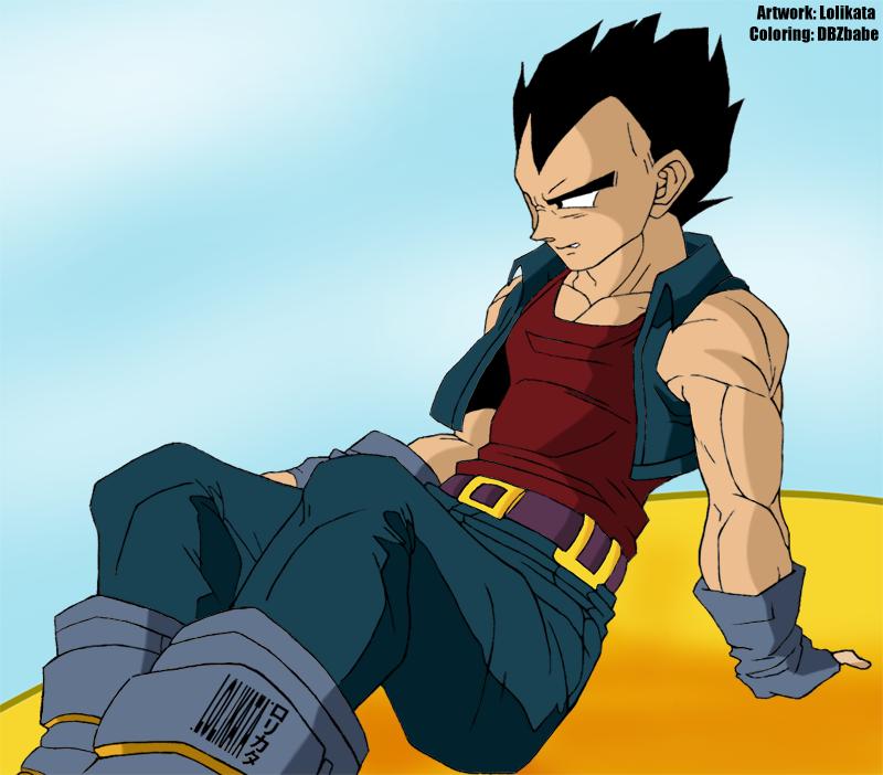 Gt Vegeta Collab By Dbzbabe On Deviantart Collab Deviantart Anime