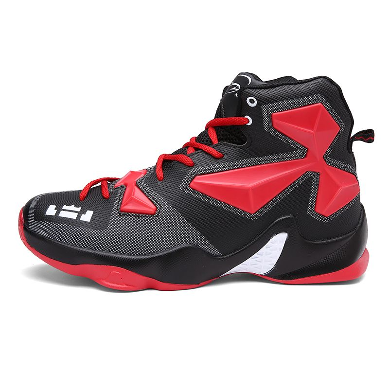 Men Basketball Shoes Male Ankle Boots