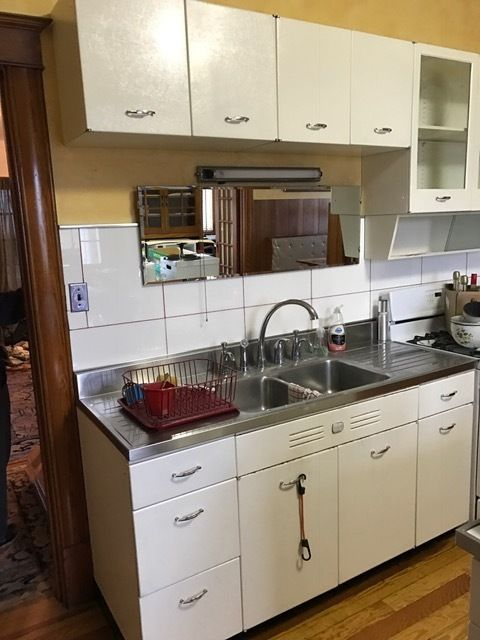 Mies Building Vintage Metal Kitchen Cabinets Apartment Therapy S