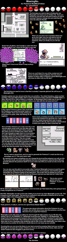 MissingNo. and Item Duplication Pokémon, Missingno
