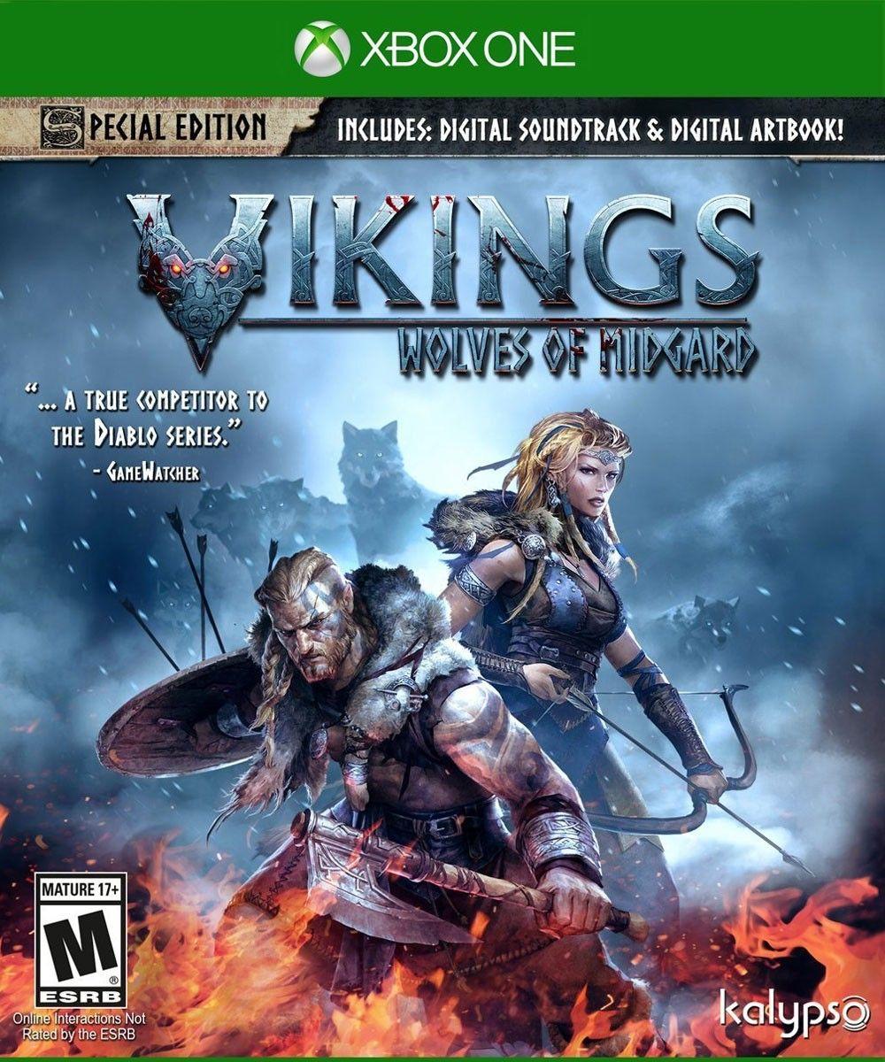 Vikings Wolves Of Midgard Jogos Ps4 Xbox One Vikings