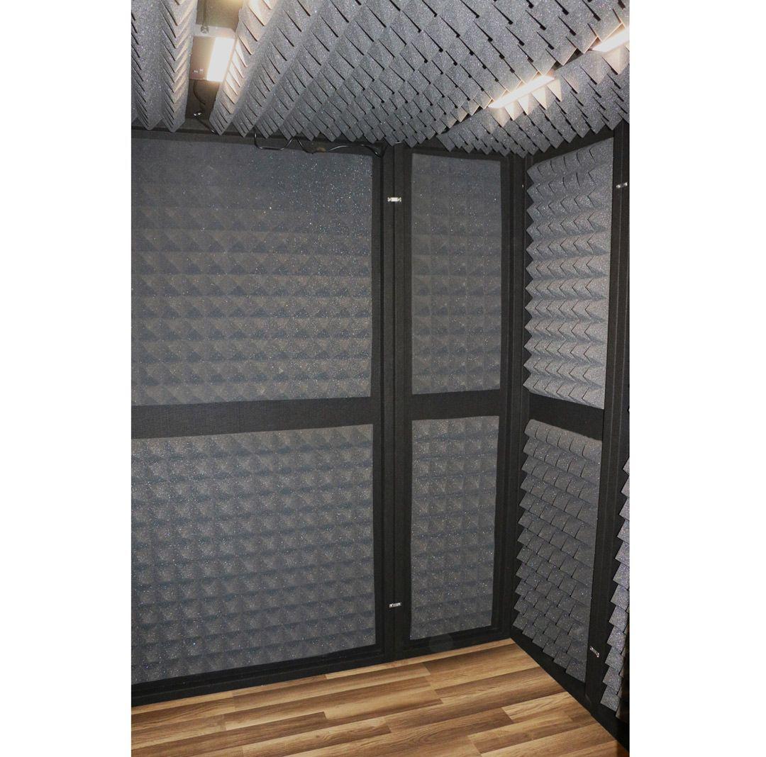 6x6 la vocal booth interior acoustic panels custom