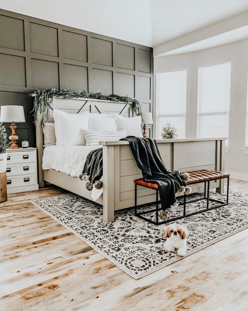 Boutique Rugs Master Bedroom Area Rug Ourfauxfarmhouse Com In 2020 Bedroom Area Rug Master Bedroom Rug Simple Bedroom #rug #over #carpet #living #room