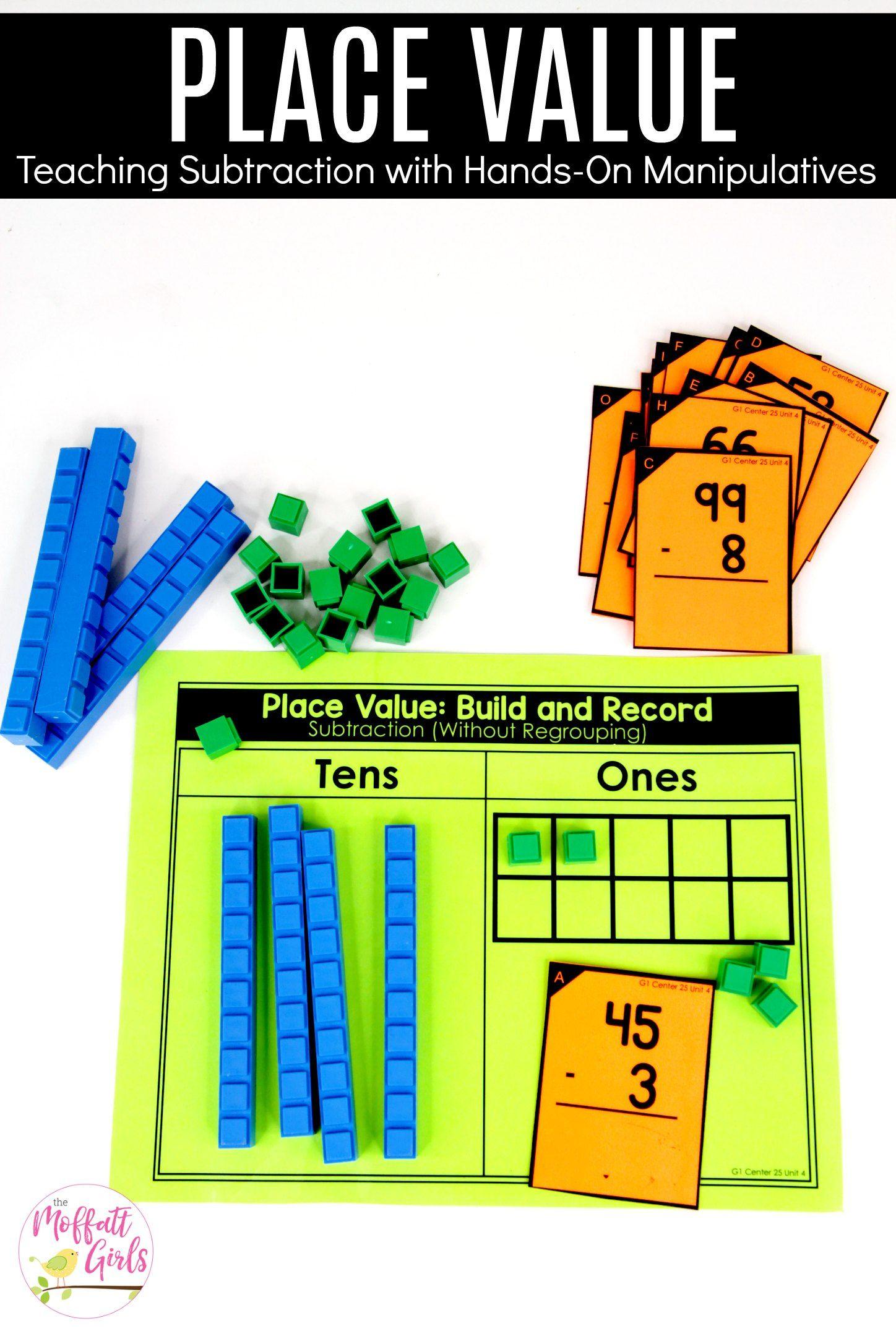 First Grade: Place Value | Math activities, Math and Activities