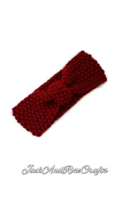 Hey, I found this really awesome Etsy listing at https://www.etsy.com/listing/199951981/red-chunky-moss-knit-turban-headband