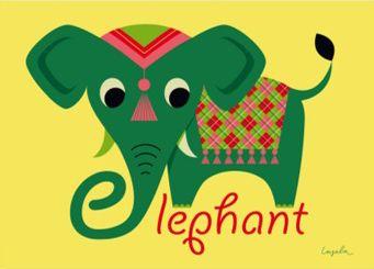 Moderna Museet Webshop - Elephant poster
