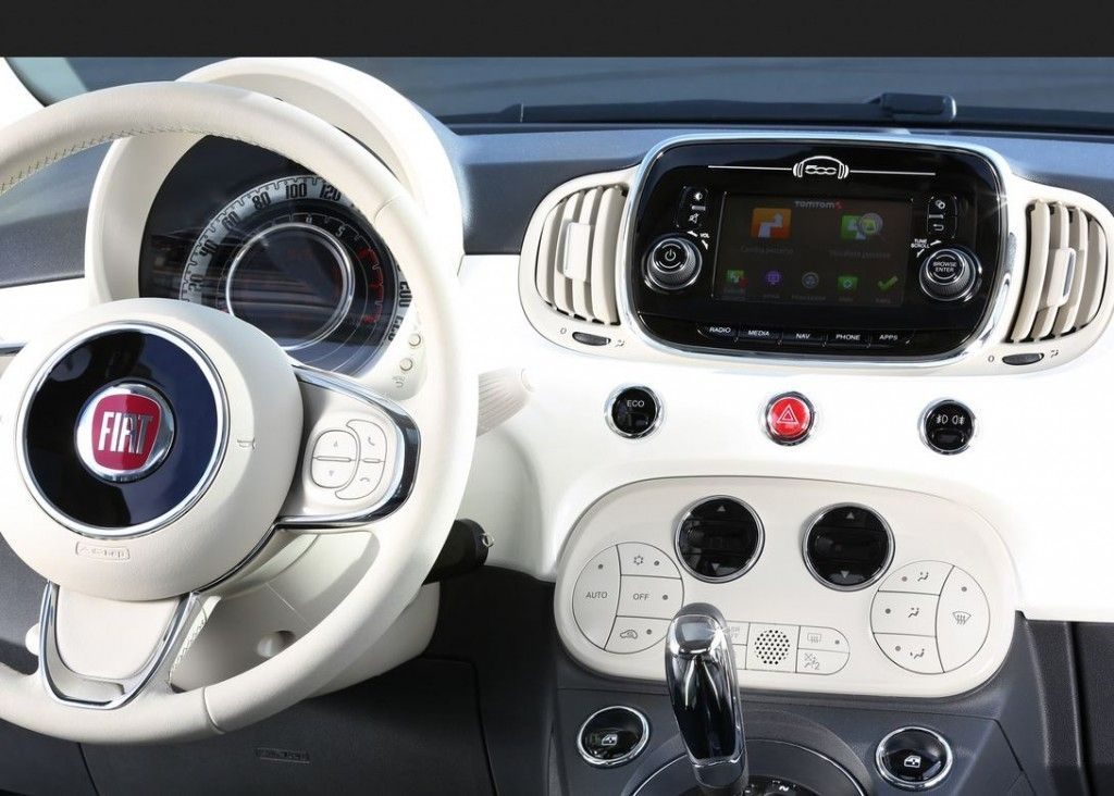 New Fiat 500 Launched With Tomtom Live Services And Connected