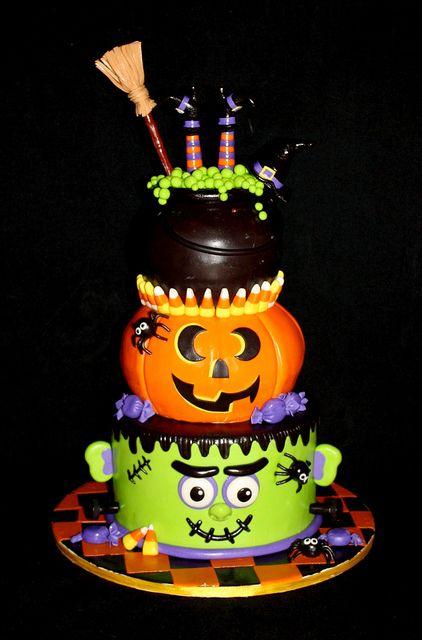 halloweenbday | Halloween cakes, Halloween birthday and Halloween ...