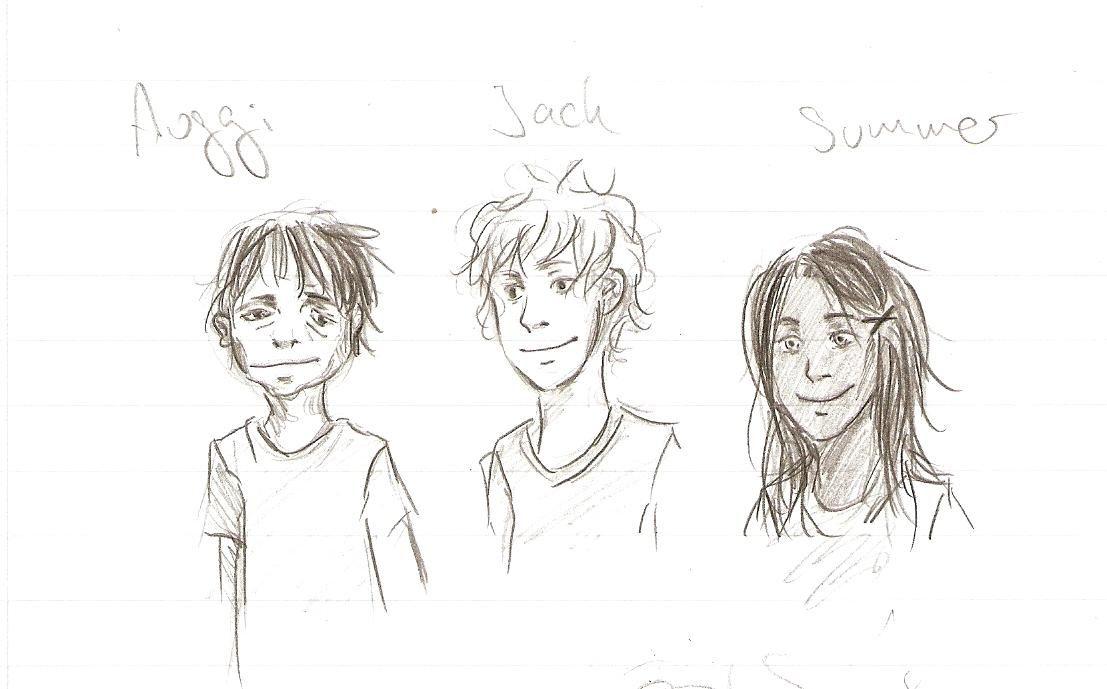 Wunder (R.J. Palacio), character : August, Jack, Summer
