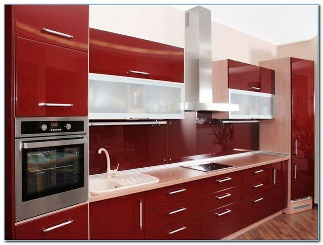 Kitchen Cabinet Furniture Online Red Gloss Colors Ideas For Small