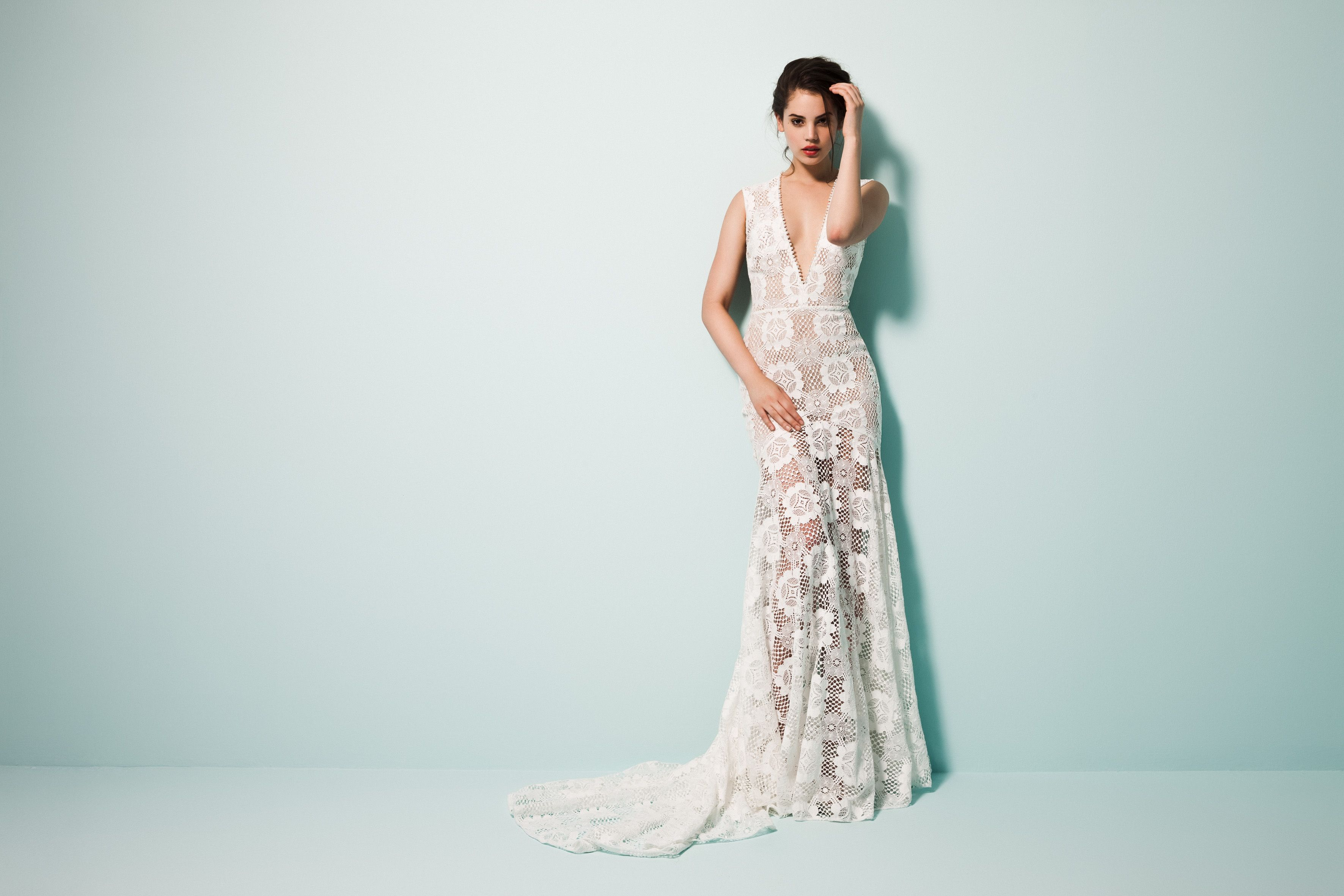 Magnificent Pearl Wedding Gowns Embellishment - All Wedding Dresses ...