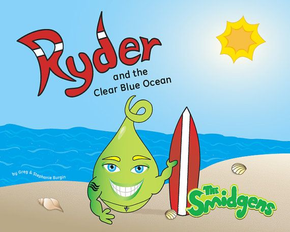 Ryder and the Clear Blue Ocean by Greg and by TheSmidgens on Etsy, $8.99