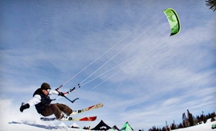 Snow kiting.  I'm going April 21, 2012.