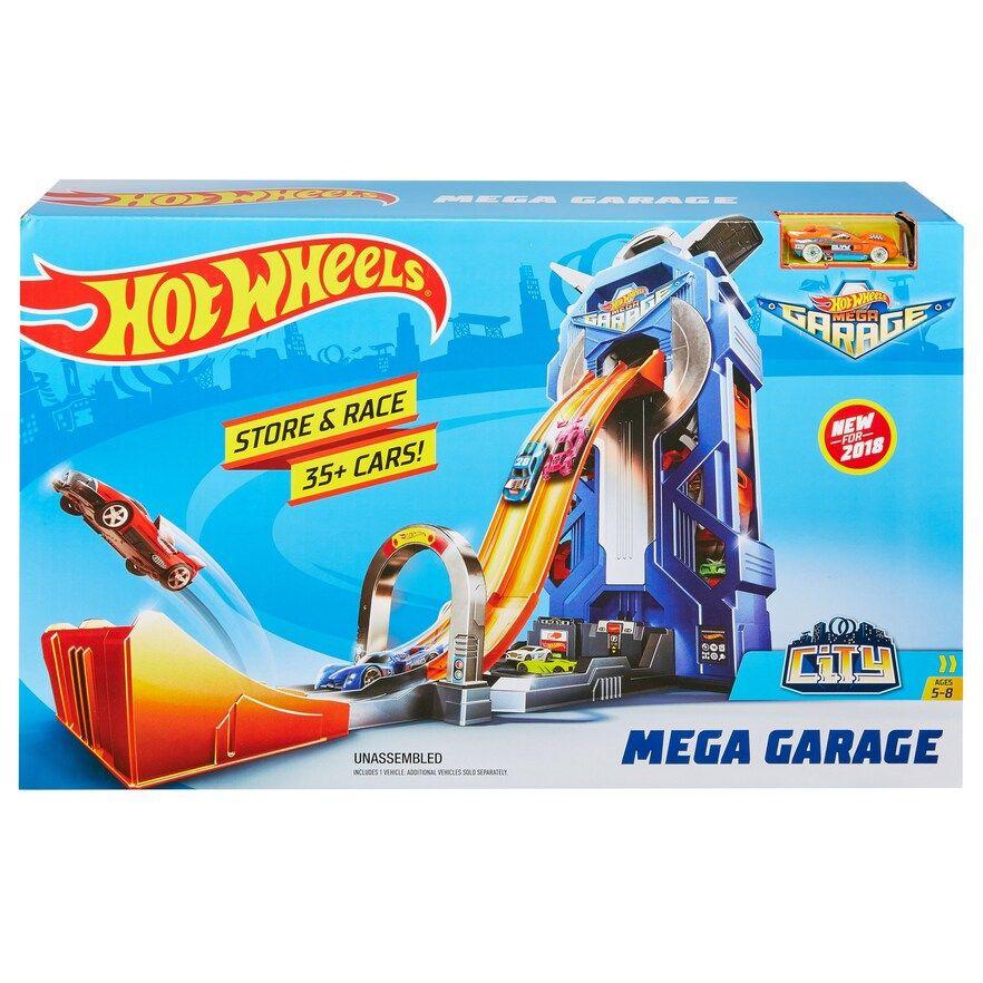 Mattel Hot Wheels Mega Garage Play Set Hot Wheels Mattel Hot