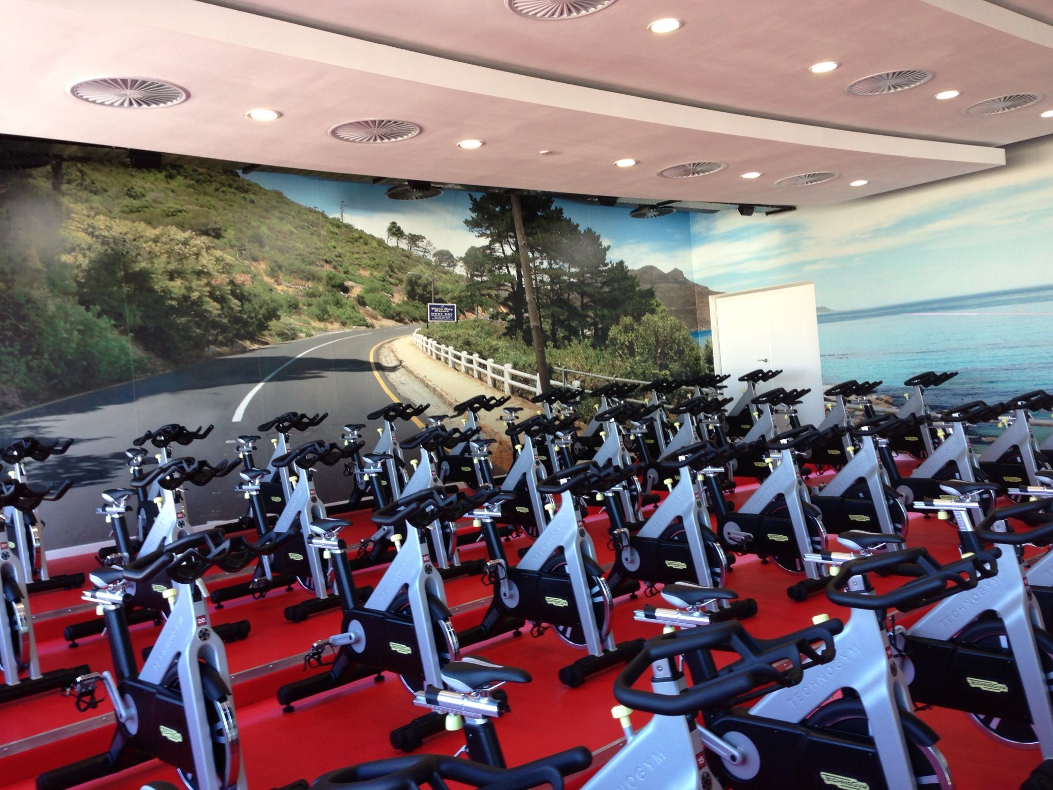 Spinning Studio Virgin Active Sunningdale Cape Town