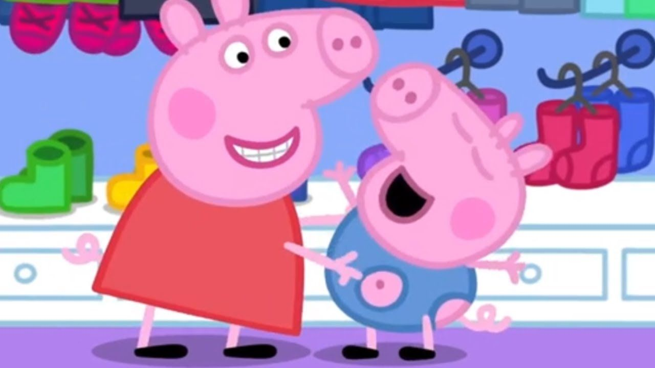 We Love Peppa Pig George S New Clothes 47 Peppa Pig Funny