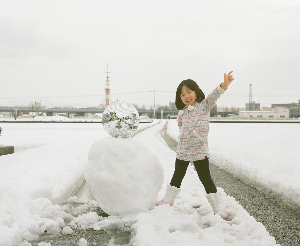 Creative Portraits of a Daughter by Nagano Toyokazu | Who Designed It?