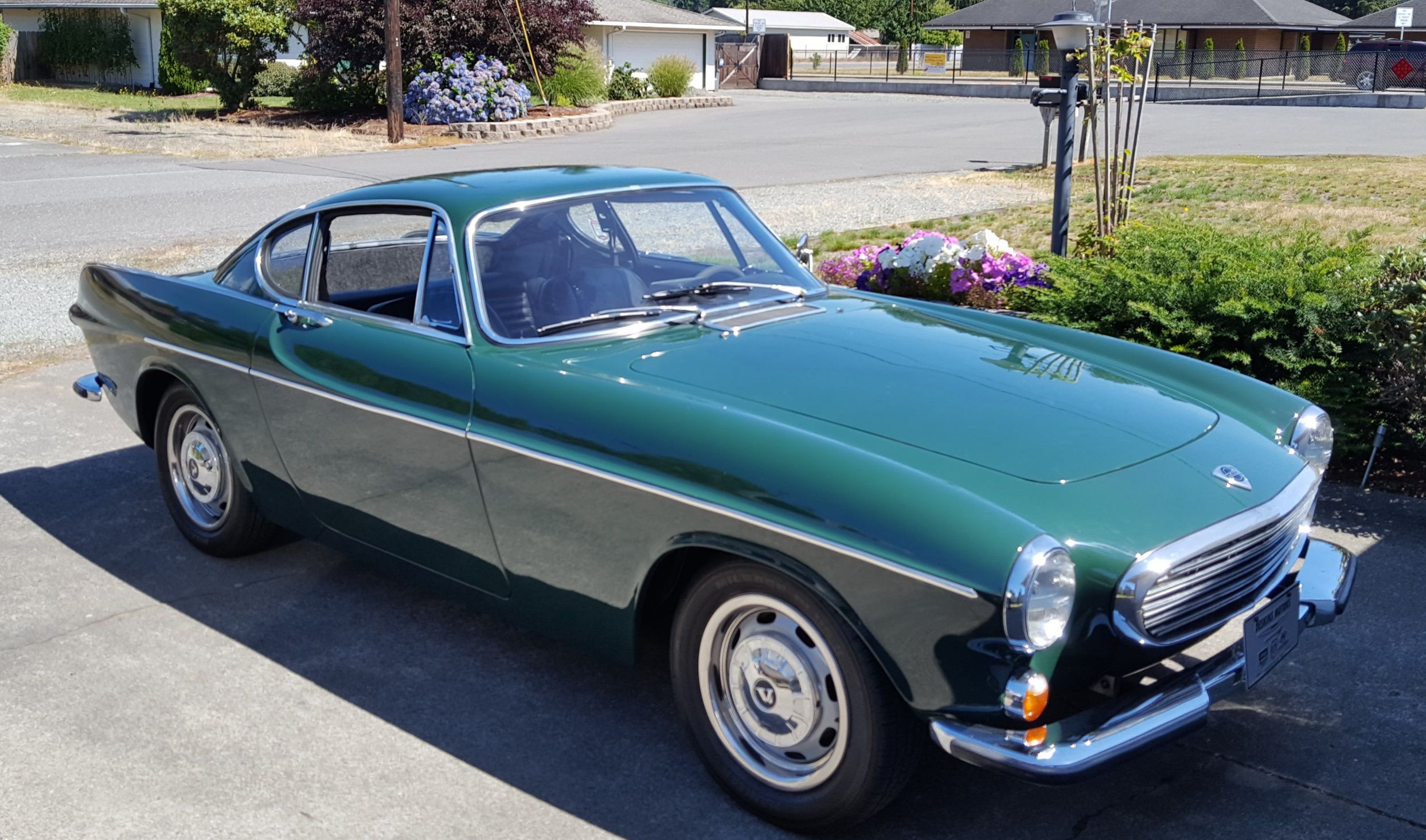 My 67 volvo 1800s purchased july 28th 2016 up vancouver