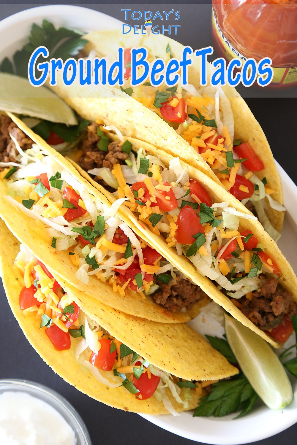 Ground Beef Tacos In 2020 Ground Beef Tacos Tacos Beef Beef Tacos Recipes