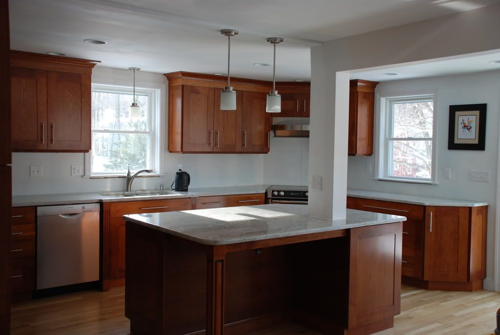 kitchen island with support column home sweet home pinterest