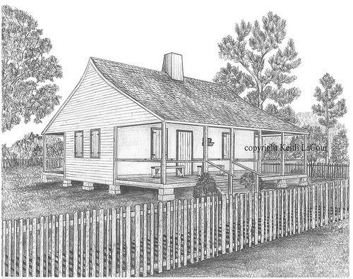 Hypolite Bordelon House In Avoyelles Parish Louisiana Avoyelles Parish House Styles History Pictures