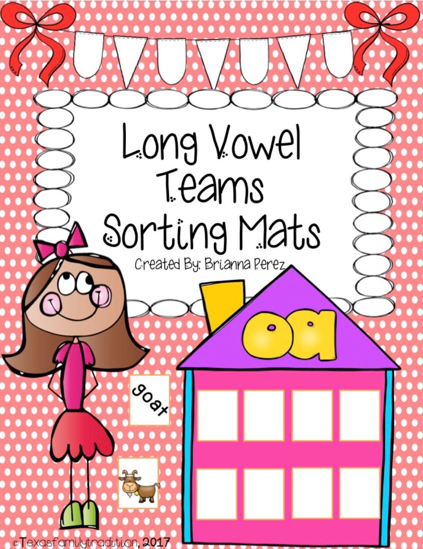 Long Vowel Teams Sorting Mats