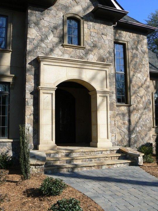 Window And Door Surrounds Classic Stone Creations Cast Stone Doors Front Door