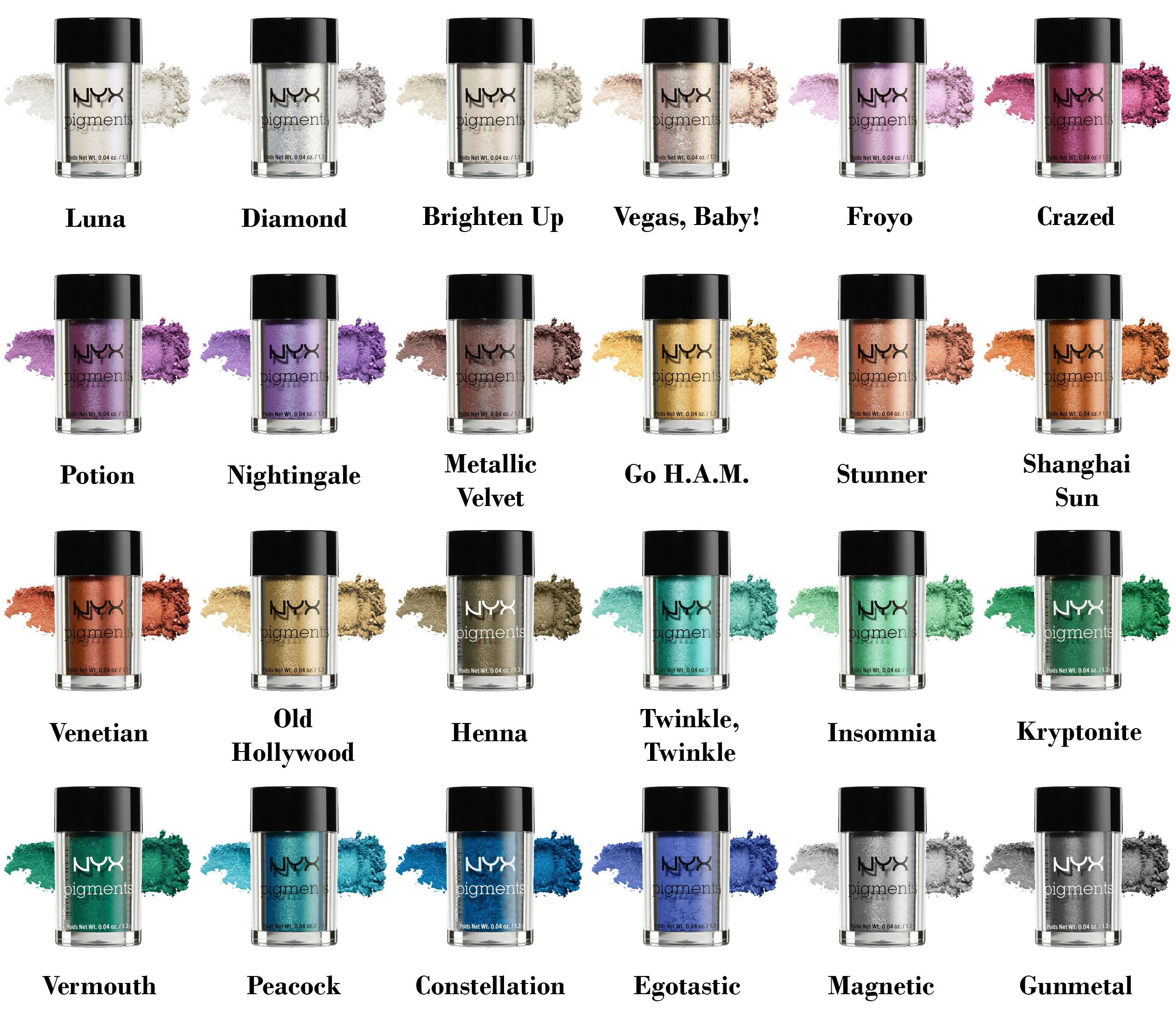 Best 25 Hair Color Swatches Ideas On Pinterest Auto Electrical Hunter 25819 Wiring Diagram Nyx Pigments Swatch