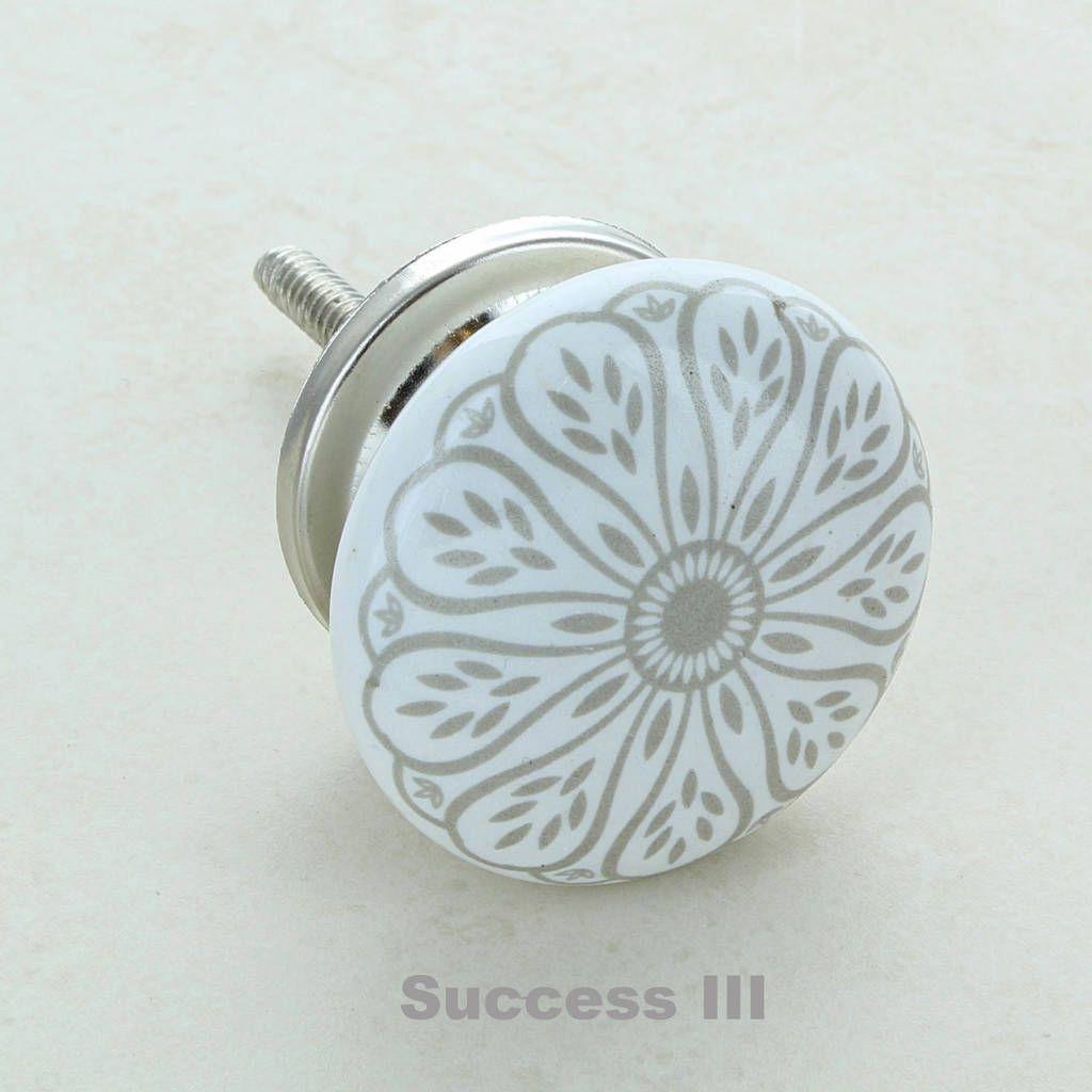 Success Ceramic Door Knobs Cupboard Drawer Door Handles   Hardware ...