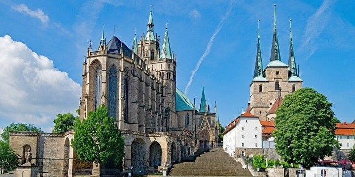 Erfurt, Thuringia, central Germany