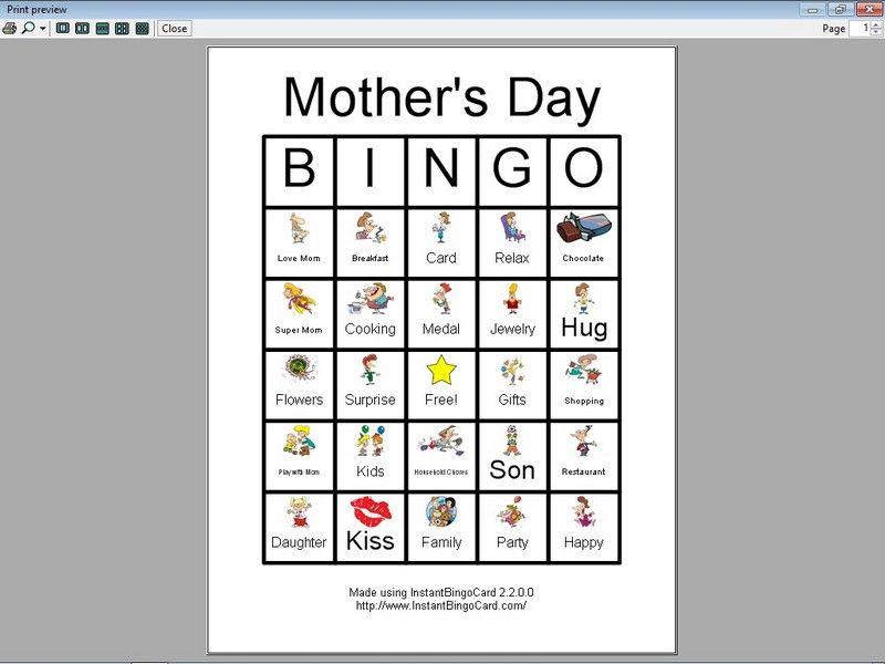 mother 39 s day bingo cards clip art edition kids 39 activities halloween bingo cards bingo. Black Bedroom Furniture Sets. Home Design Ideas