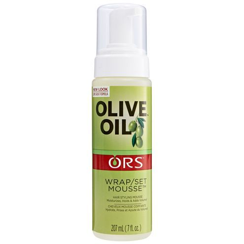 Olive Oil Wrap Set Mousse In 2020 Olive Oil Hair Natural Hair