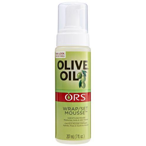 Organic Root Stimulator Olive Oil Wrap Set Mousse Hair Mousse Natural Hair Moisturizer Olive Oil Hair