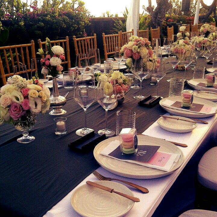 Table set up decoration internship at bvlgari hotels and resorts table set up decoration junglespirit Gallery