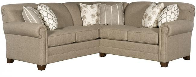 """King Hickory Angelina 92""""x 92"""" 36""""h 38""""d seat 20""""h arm 26"""" seat 21"""