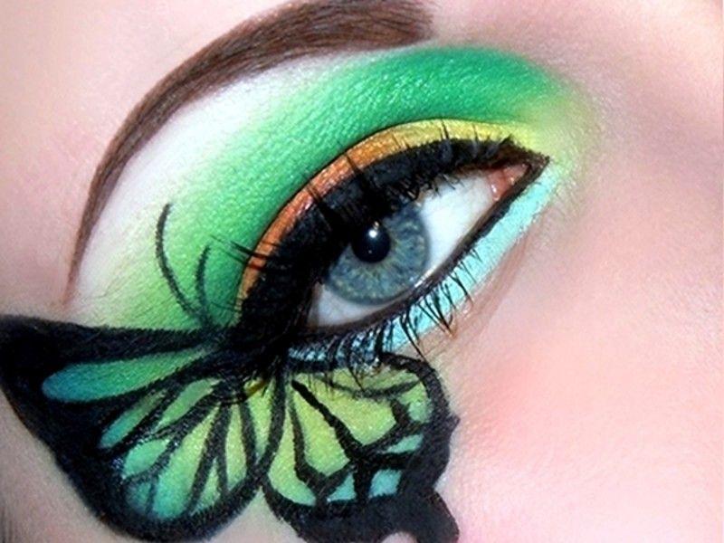 Maquillaje de ojos: los bloggers de belleza muestran sus looks más extraordinarios